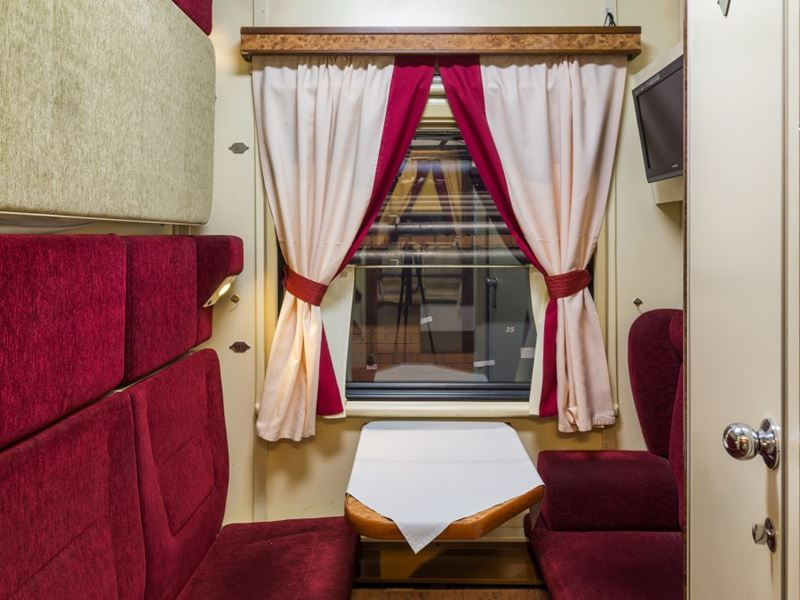 Moscow - Beijing Train Tour. First Plus Class Car