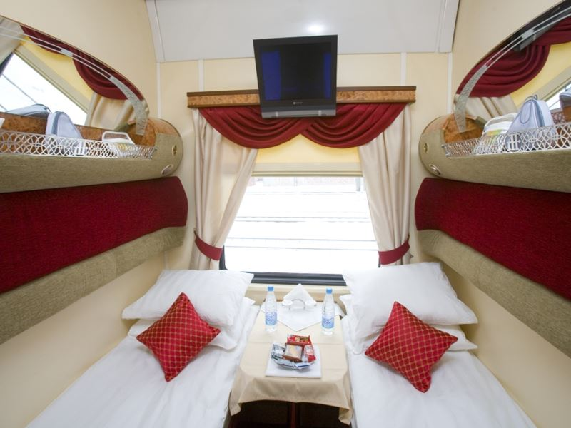 Moscow - Beijing Train Tour. First Class Car