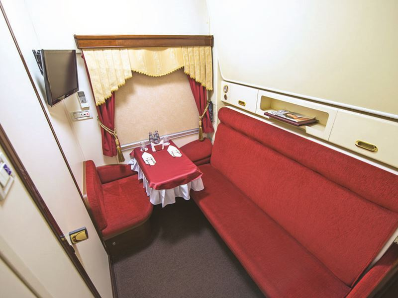 Moscow - Beijing Train Tour. Business Car